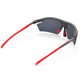 Rudy Project Rydon Okulary rowerowe, szary/czerwony
